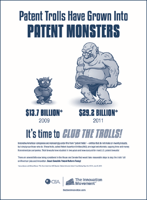 Patent Trolls Have Grown Into Patent Monsters