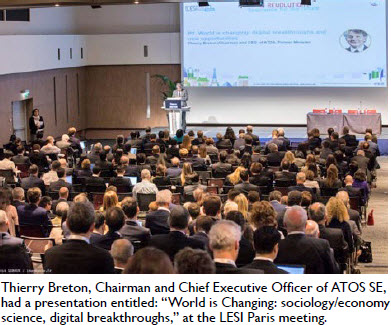 "Thierry Breton, Chairman and Chief Executive Officer of ATOS SE, had a presentation entitled: ""World is Changing: sociology/economy science, digital breakthroughs,"" at the LESI Paris meeting."
