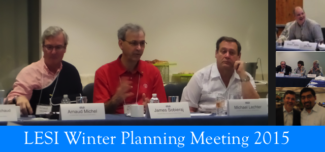 Winter Planning Meeting 2015